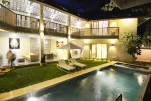 Long Term Rental Villa Analia in Kerobokan, yearly rental villa