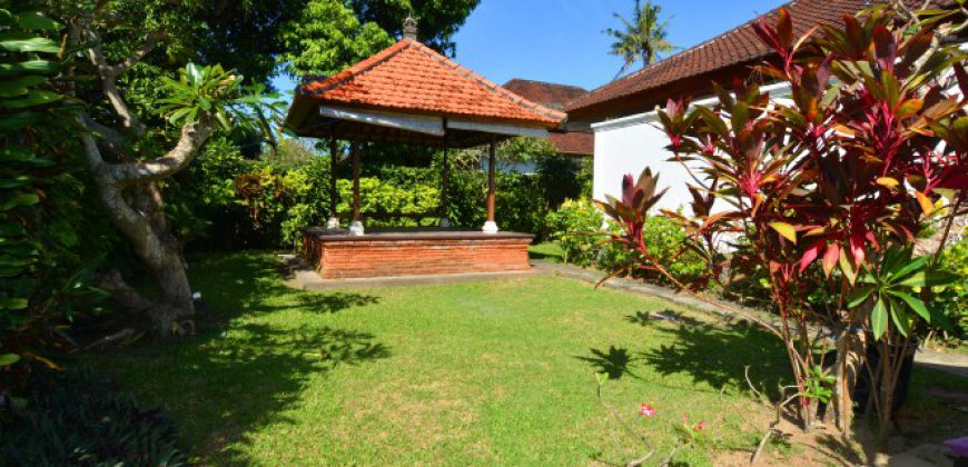 Bali Long Term Rental Villa Tirta Nadi in Sanur