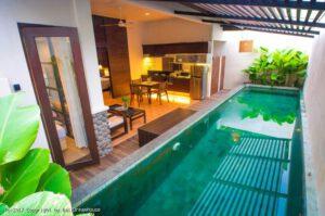 long term rental villa Elina in Petitenget, yearly rental villa