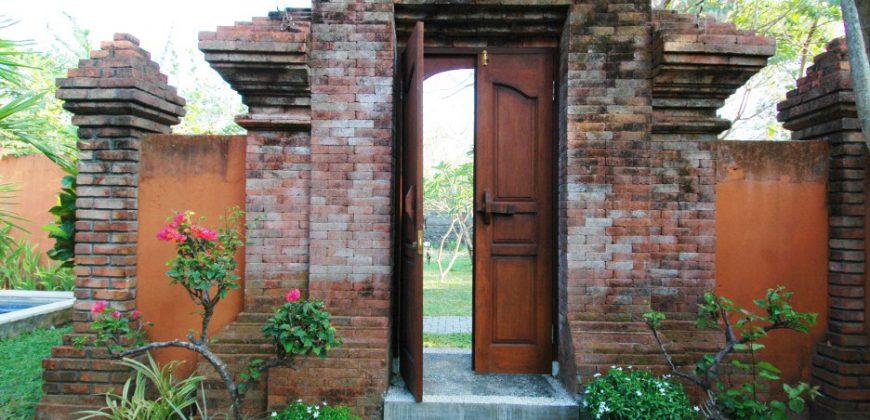 Bali Long Term Rental Villa Bridget in Sanur