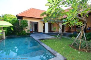 long term rental villa Charleigh in Sanur, yearly rental villa