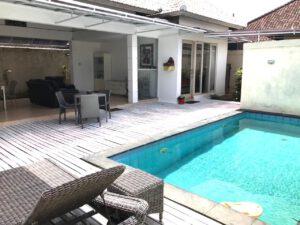 long term rental villa Amber in Seminyak, yearly rental villa