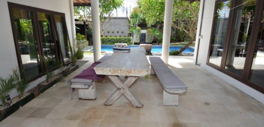 Bali Long Term Rental Villa Crystal in Berawa