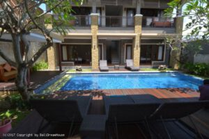 Long Term Rental Villa Eliann in Seminyak, Yearly Rental Villa