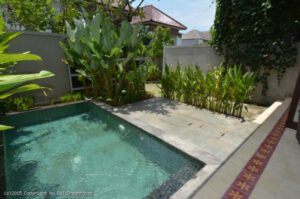 Long Term Rental Villa Charlotte in Canggu, yearly rental villa