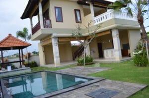 long term rental villa Aliya in Canggu, yearly rental villa