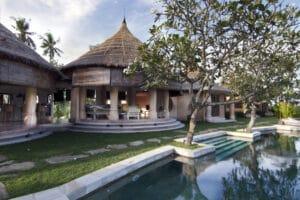 Long term rental villa Danielle in Cemagi, yearly rental villa