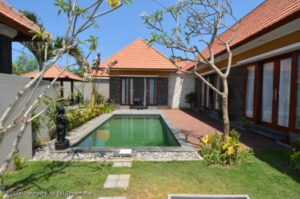 long term rental villa Catherine in Sanur, yearly rental villa