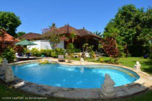 long term rental Villa Tirta in Sanur, yearly rental villa