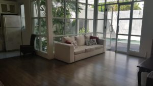 long term rental villa Guadalupe in Petitenget, yearly rental villa