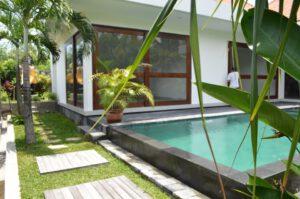 long term rental villa California in Kerobokan, yearly rental villa