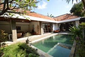 long term rental villa Saylor in Seminyak, yearly rental villa