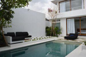 long term rental villa Orchid in Petitenget, yearly rental villa