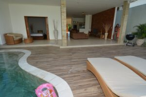 long term rental villa daniela in berawa, yearly rental villa