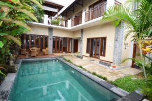 long term rental villa reese in umalas, yearly rental villa