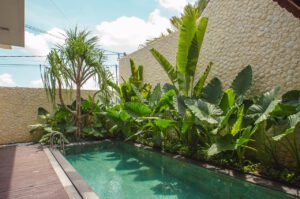 long term rental villa ruby in umalas, yearly rental villa