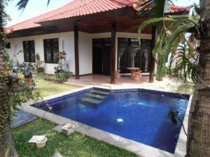 long term rental villa esther in sanur, yearly rental villa