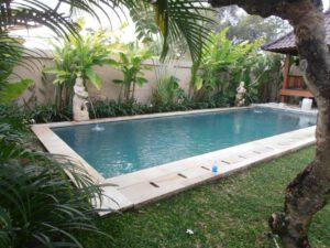 long term rental villa banyu in umalas, yearly rental villa